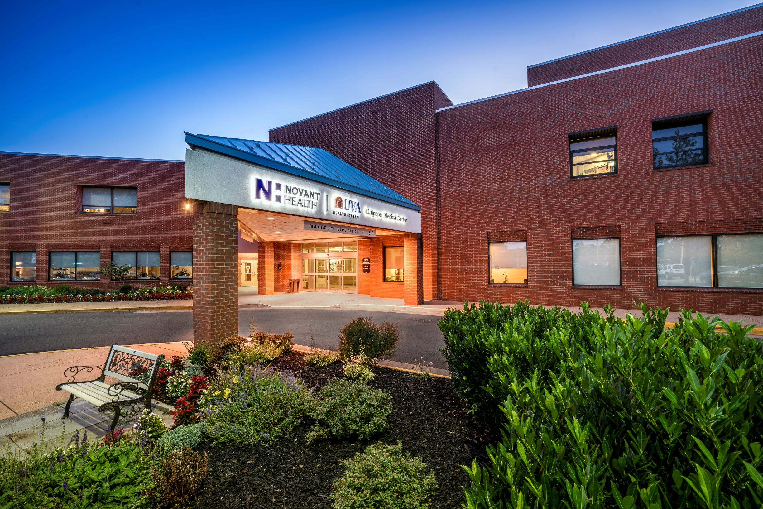 Novant Health UVA Health System Culpeper Medical Center services