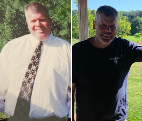Patient Steve Daniels shares his remarkable weight-loss journey